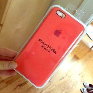 UNUSED iphone 6s plus orange case